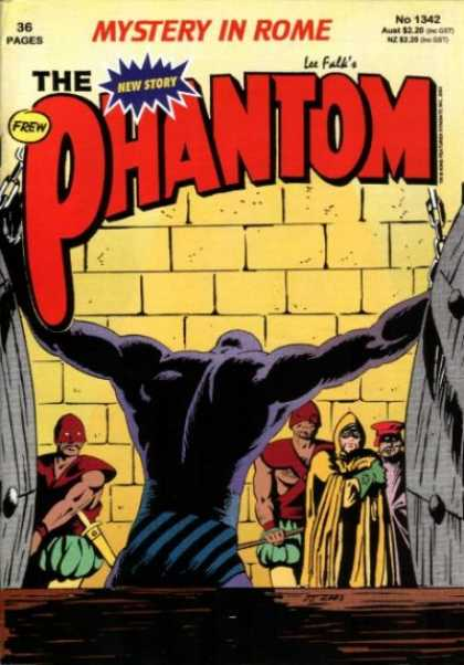 Phantom 1342 - Mystery In Rom - Chains - Yellow Brick - Yellow Cape - Lee Falk - Jim Shepherd