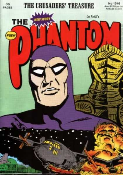 Phantom 1346 - The Crusaders Treasure - New Story - Lee Falk - No 1346 - Airplane - Jim Shepherd