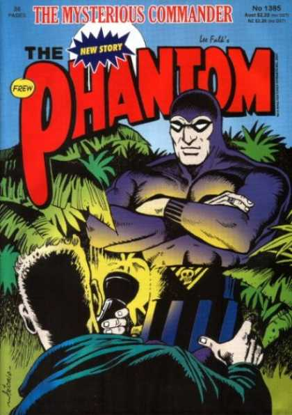 Phantom 1385 - Flashlight - Plants - Mysterious Commander - Man Holding Torch - New Story
