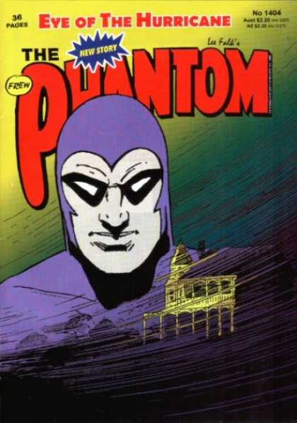 Phantom 1404 - The Purple Avenger - House On Haunted Lane - Hurricane Hero - Storms Coming - House Of Secrets