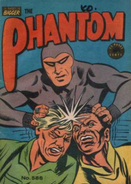 Phantom 586 - Adventure - Knocking Heads - Silver Age - Comic Strip Characters - Mask