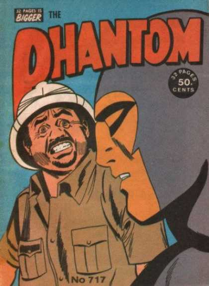 Phantom 717 - The Maksed Phantom - Phantom Of The Lost Ark - The Search For The Golden Hand - The End To Iron - Gold Typhoon
