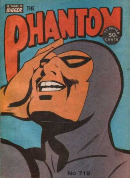 Phantom 719 - 32 Pages Is Bigger - 50 Cents - Mask - Costume - Face