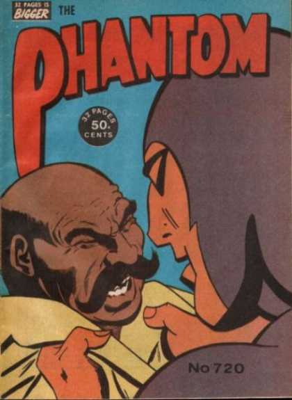 Phantom 720 - 32 Pages Is Bigger - 50 Cents - Mask - Men - No 720