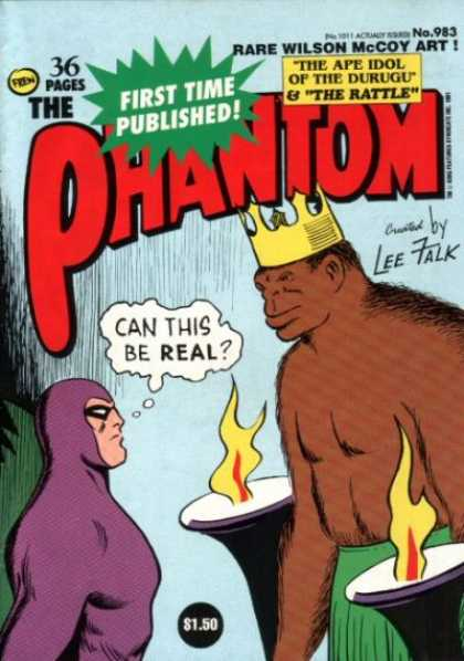 Phantom 983 - 36 Pages - Rare - Wilson Mccoy - The Rattle - Ape Idol
