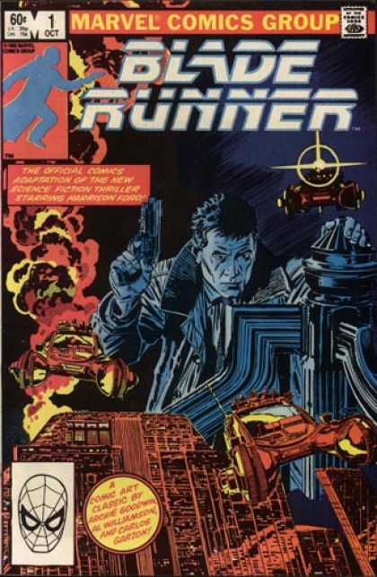 Philip K. Dick - Blade Runner Marvel Comic 1