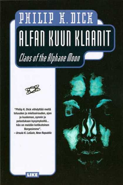 Philip K. Dick - Clans of the Alphane Moon 20 (Finnish)