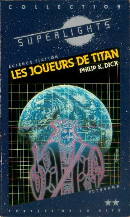 Philip K. Dick - The Game Players Of Titan 9 (French)