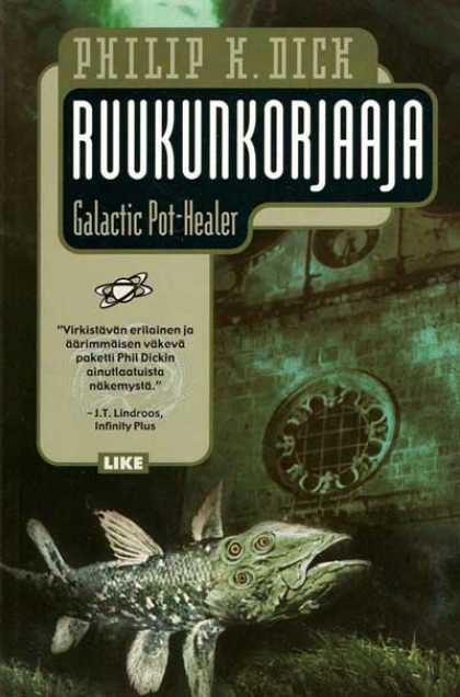 Philip K. Dick - Galactic Pot Healer 12 (Finnish)