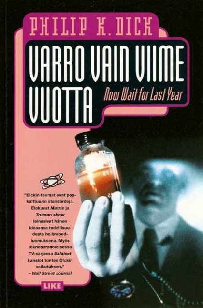 Philip K. Dick - Now Wait For Last Year 8 (Finnish)