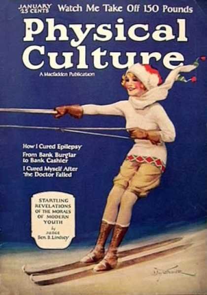 Physical Culture - 1/1925
