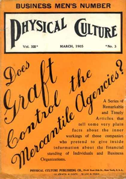 Physical Culture - 3/1905