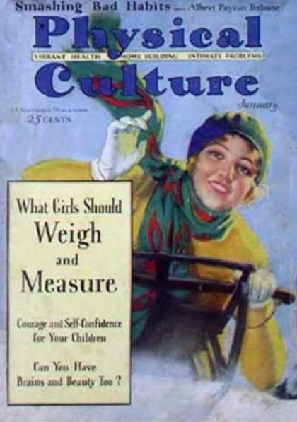 Physical Culture - 1/1930