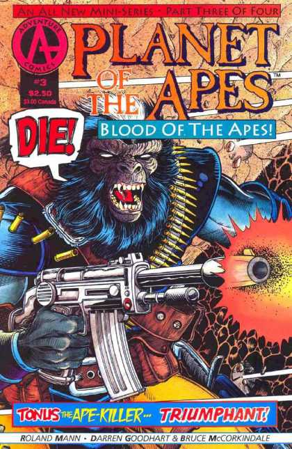 Planet of the Apes: Blood of the Apes 3