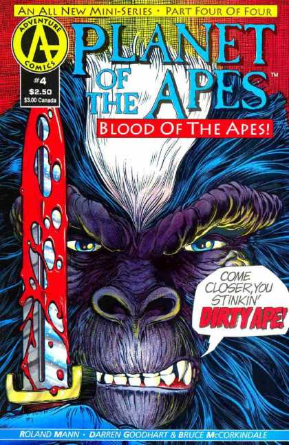 Planet of the Apes: Blood of the Apes 4