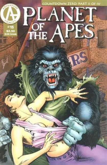 Planet of the Apes 15 - Monster - Lady - Body - Hair - Face - Tom Smith
