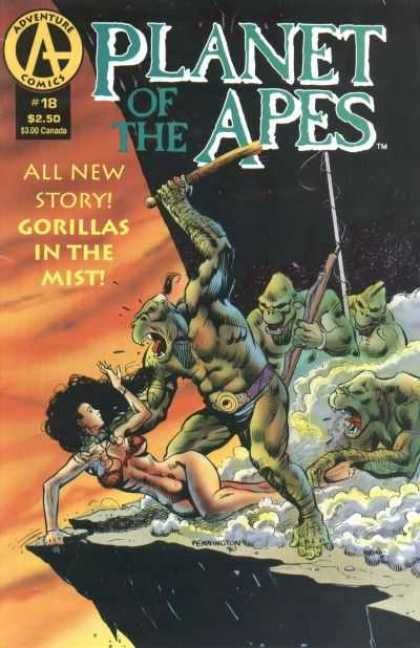 Planet of the Apes 18 - Adventure Comics - All New Story - Gorillas In The Mist - 18 - 250