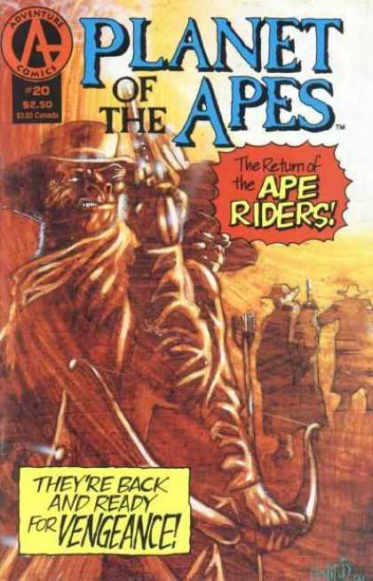 Planet of the Apes 20 - Tony Harris