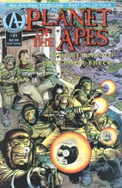 Planet of the Apes 21 - Tony Akins