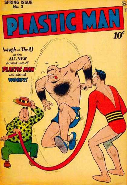 Plastic Man 3 - Laugh - Thrill - Adventures - Woosy - Three - Hilary Barta, Kyle Baker
