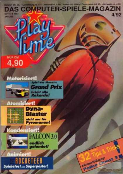 Play Time - 4/1992