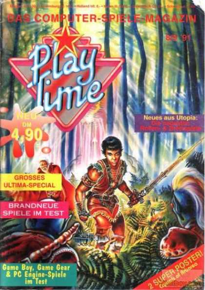 Play Time - 8/1991