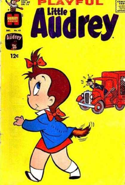 Playful Little Audrey 43 - Net - Tail - Truck - Man - 12 Cents