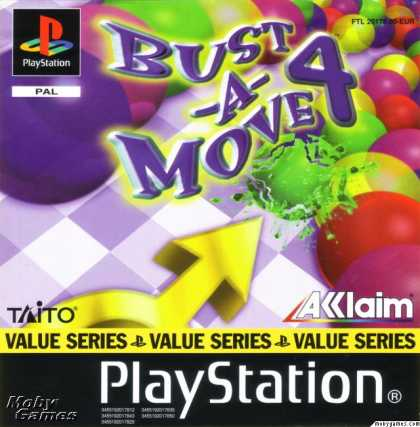 PlayStation Games - Bust-A-Move 4