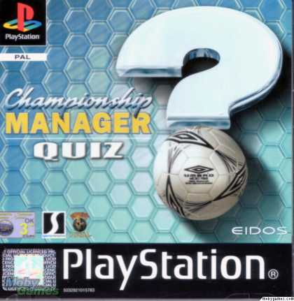 PlayStation Games - Championship Manager Quiz