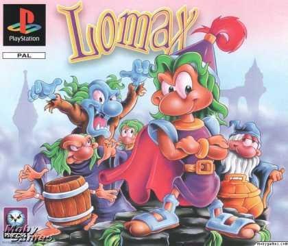 PlayStation Games - The Adventures of Lomax