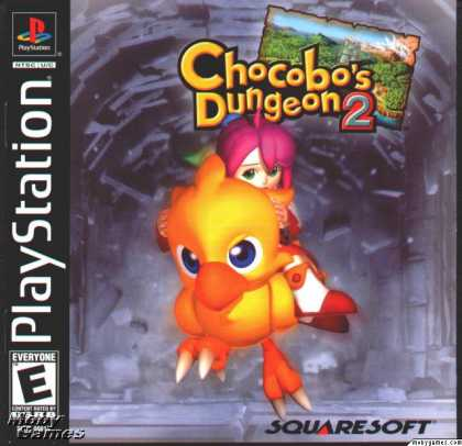 PlayStation Games - Chocobo's Dungeon 2