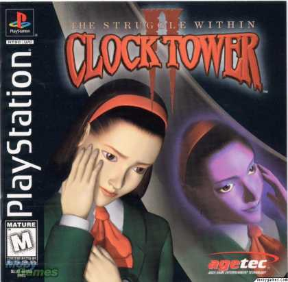 PlayStation Games - Clock Tower 2: The Struggle Within