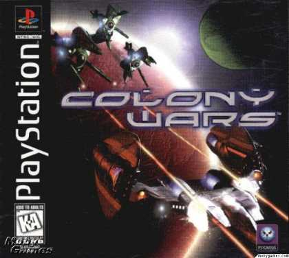 PlayStation Games - Colony Wars