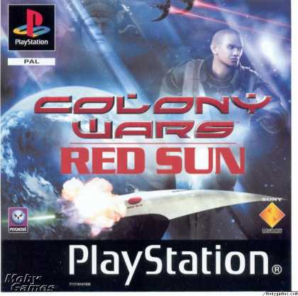 PlayStation Games - Colony Wars: Red Sun