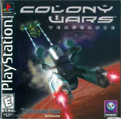 PlayStation Games - Colony Wars: Vengeance