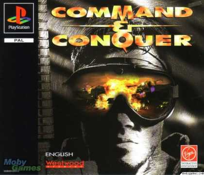 PlayStation Games - Command & Conquer