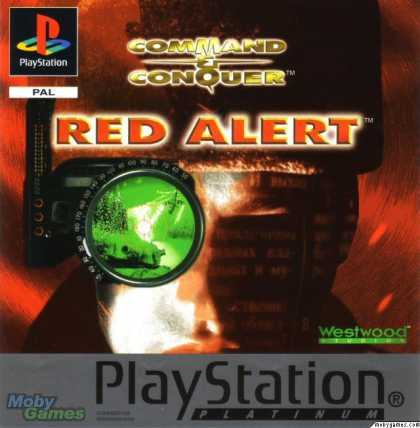 PlayStation Games - Command & Conquer: Red Alert