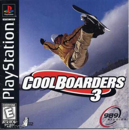 PlayStation Games - Cool Boarders 3