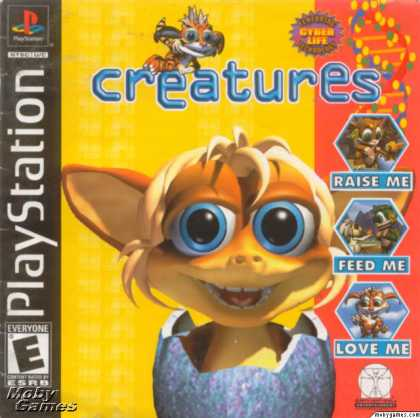 PlayStation Games - Creatures