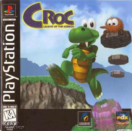 PlayStation Games - Croc: Legend of the Gobbos