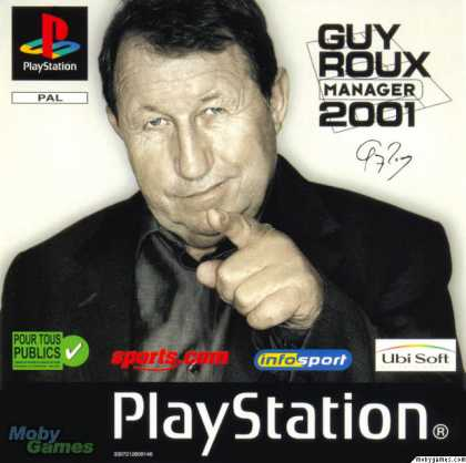 PlayStation Games - Alex Ferguson's Player Manager 2001