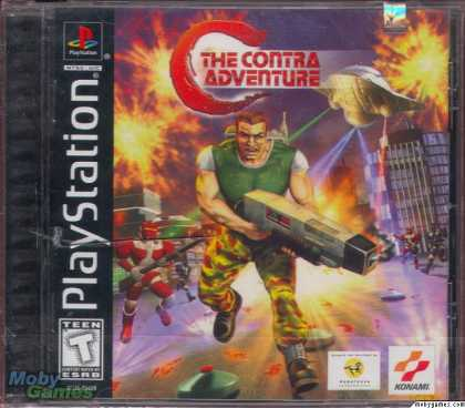 PlayStation Games - C: The Contra Adventure