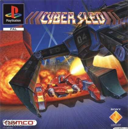 PlayStation Games - Cyber Sled