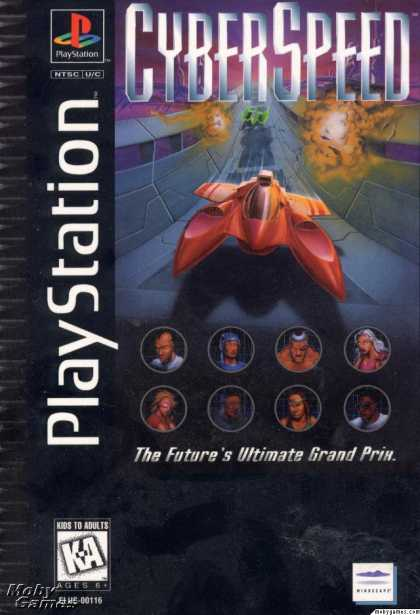 PlayStation Games - CyberSpeed