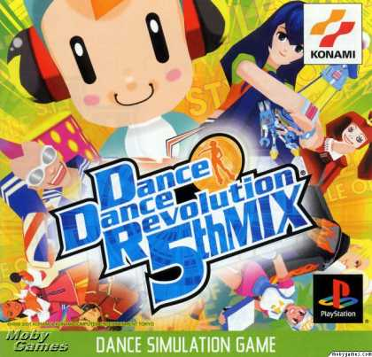 PlayStation Games - Dance Dance Revolution 5th Mix
