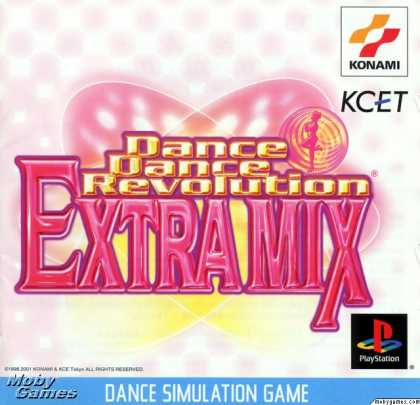 PlayStation Games - Dance Dance Revolution: Extra Mix