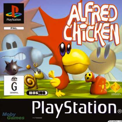 PlayStation Games - Alfred Chicken