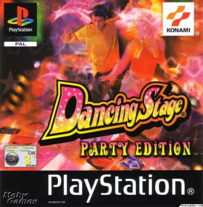 PlayStation Games - Dancing Stage Party Edition