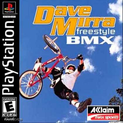 PlayStation Games - Dave Mirra Freestyle BMX