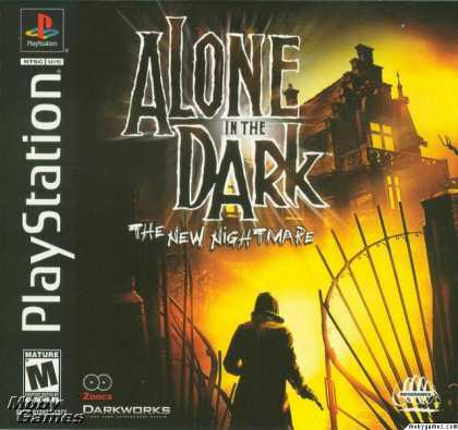 PlayStation Games - Alone in the Dark: The New Nightmare